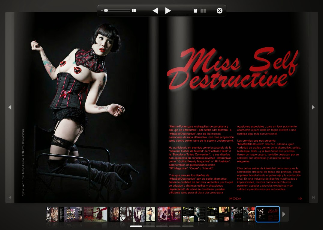Miss Self Destructive - Bad Skin